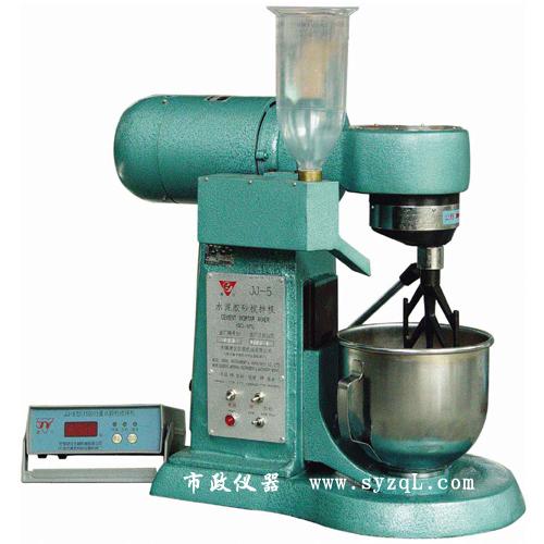 三, 水泥胶砂搅拌机主要结构及工作原理: 1, 水泥胶砂搅拌机结构:主要